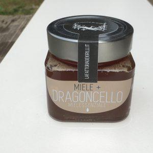 miele con olio essenziali aromatizzato al dragoncello - la fattoria dei grilli, Bologna