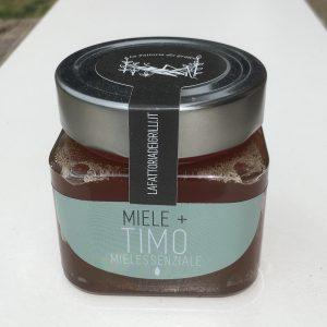 miele con olio essenziali aromatizzato al timo - la fattoria dei grilli, Bologna