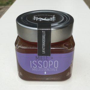 miele con olio essenziali aromatizzato all'issopo - la fattoria dei grilli, Bologna