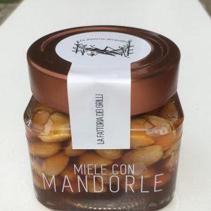 miele con mandorle - la fattoria dei grilli, Bologna